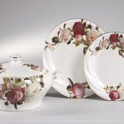 Bernardo-klasik-çiçekli-Yemek-Takımları