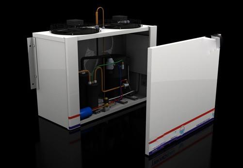 أجهزة مخازن التبريد (نوع حزمة)