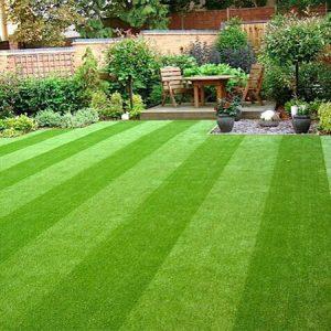 عشب صناعي للحدائق